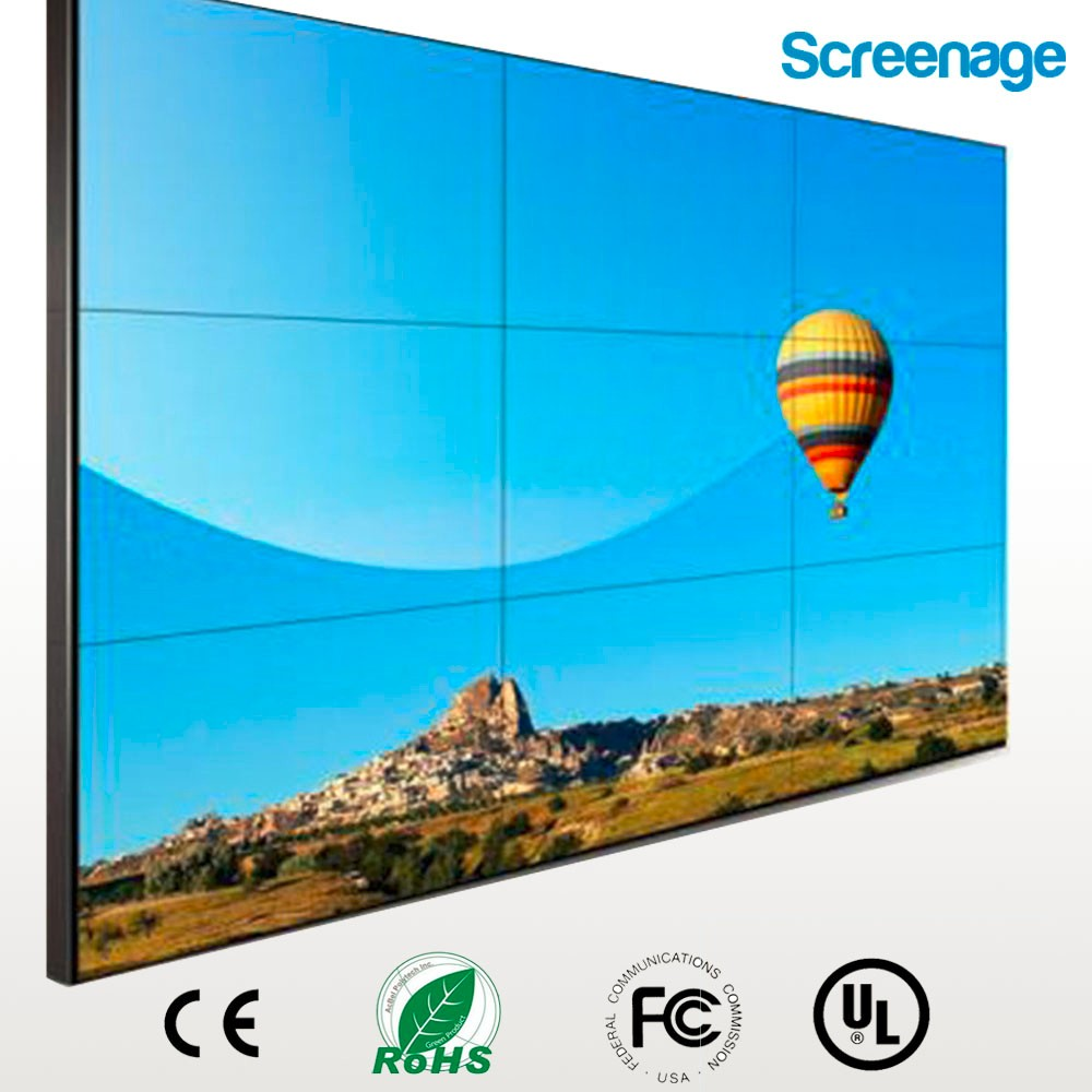 Factory price! High quality 55 inch Multi screen/DID lcd video wall/ multiple advertising a video wall with tvs