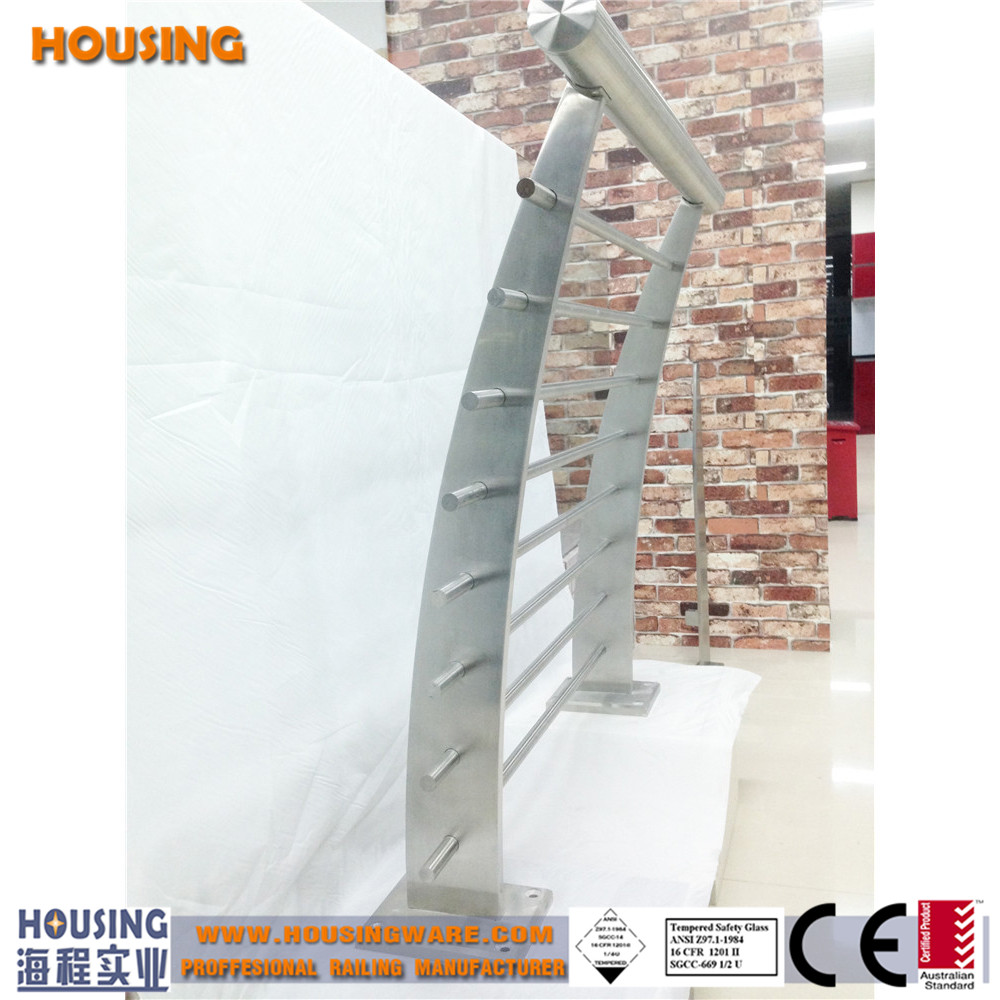 304s.s/316s.s rod railing design with high quality