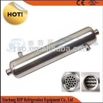 Stainless Steel Shell And Tube Heat Exchangers For Transmission And Engine Cooler