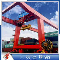 YUFEI 5-50t U type double girder container gantry crane
