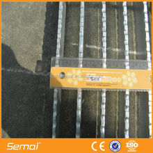 SEMAI Heavy Duty Hot-Dipped Galvanized Road Drainage Steel Grating Factory Direct Wholesale