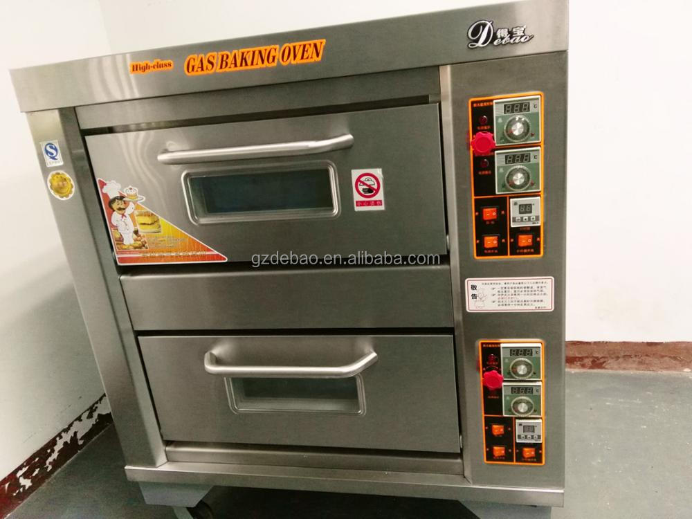 Luxury Indutrial competitive price Bakery Equipment 2 deck gas oven gas baking bread gas oven price