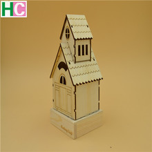 Best Christmas Gift for Kids Christmas Wooden Lighted House