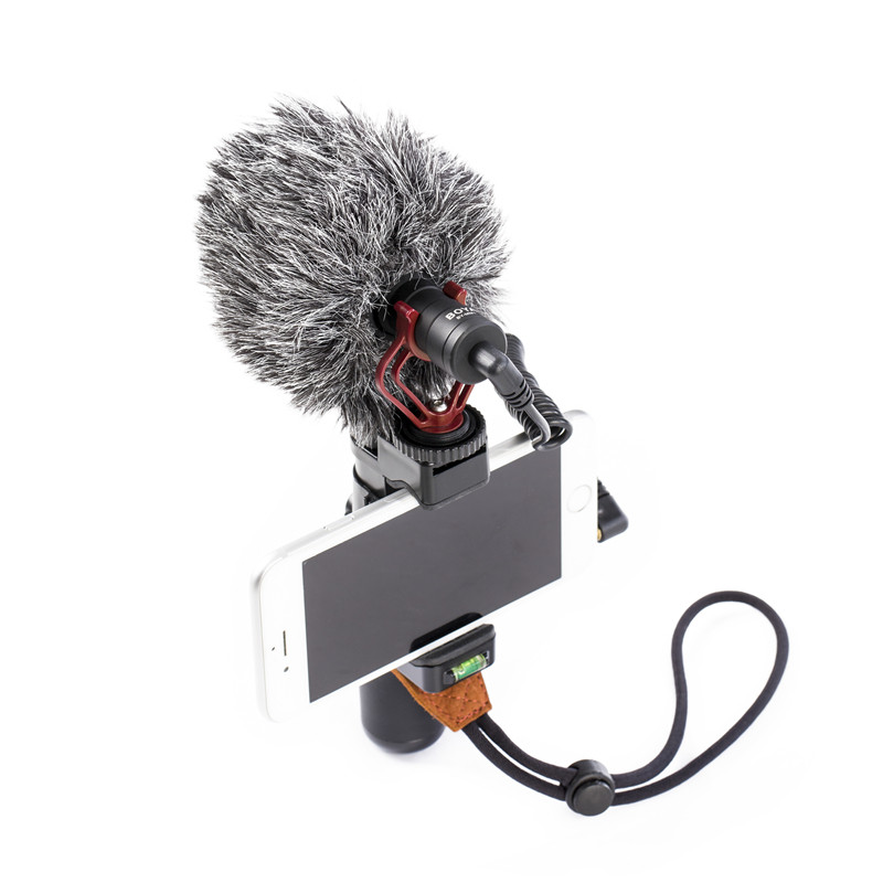 Professional Condenser Microphone BY-MM1 for Cameras Camcorders Audio Recorders