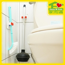 Self adhesive Happy Home reasonable price toilet brush wall holder