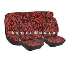 Zebra-strip Auto Seat Cover EJ8017,Leopard Seat Covers