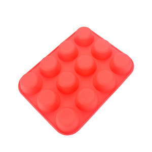 Heat Resistant Silicone Muffin Cups FDA Large Silicone Cake Mold Pan Large Silicone Baking Mold