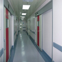 HD041 metal automatic sliding airtight door for operating theatre