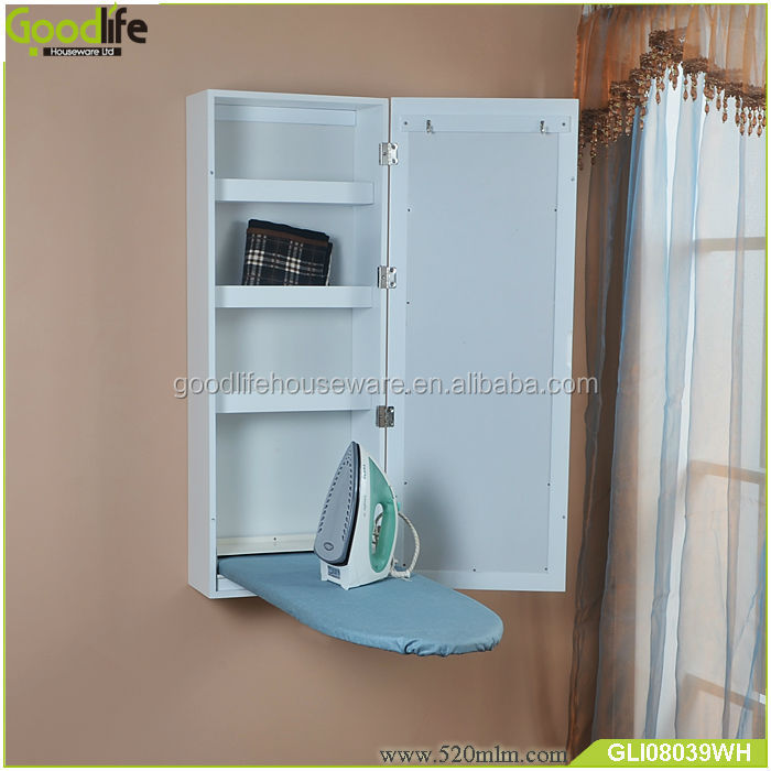 New Wooden Ironing Board With Mirror Cabinet From Goodlife, View Ironing  Board, Goodlife Product Details From Shenzhen Goodlife Houseware Co., ...
