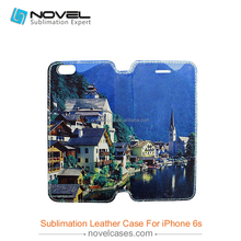 Sublimation Full Size Printing Leather Mobile Phone Case For iPhone 6