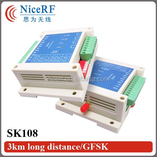 2015 NiceRF Remote Control Switch Wireless RF Data Transceiver 3KM Network Switch