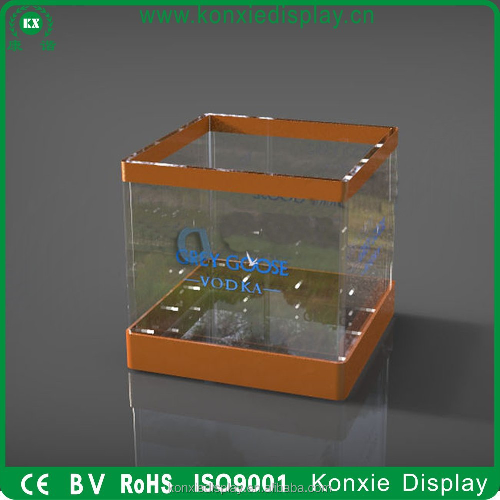 custom led corona beer acrylic glass ice bucket cooler wholesale