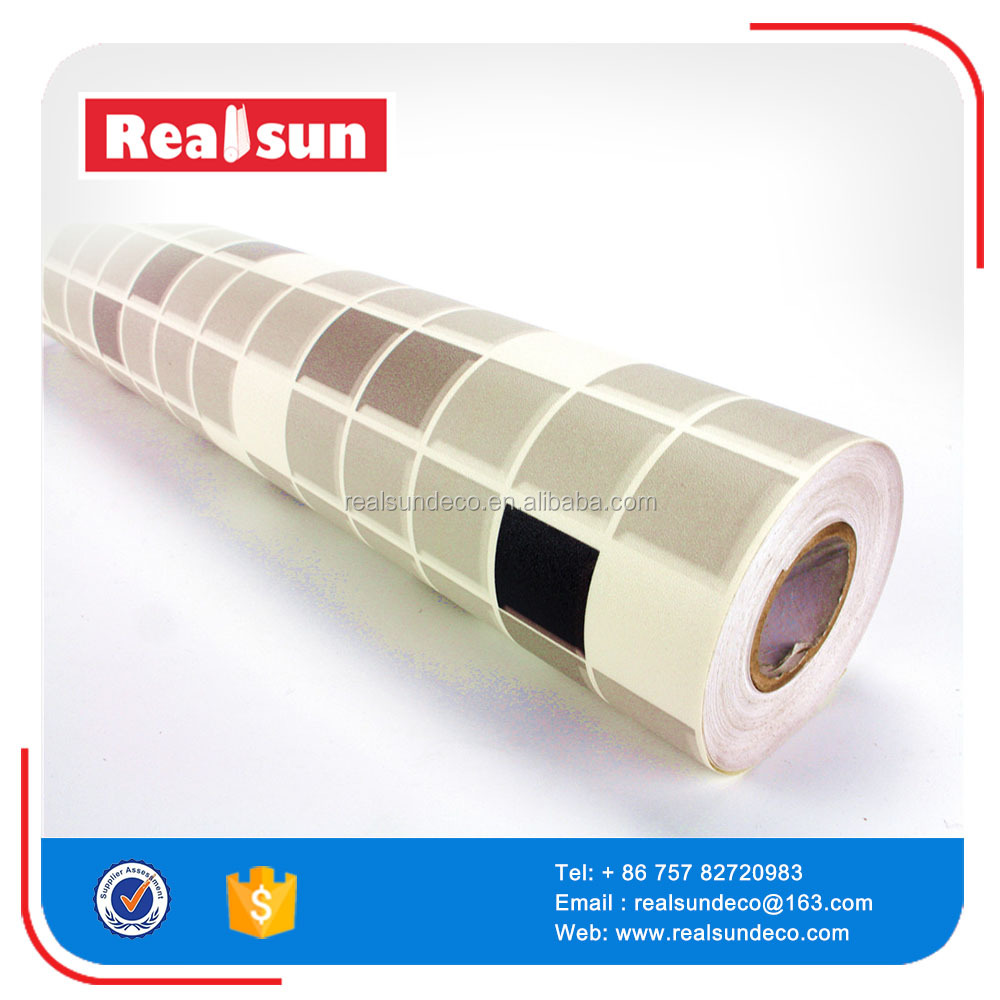 home decoration self adhesive pvc wall paper rolls