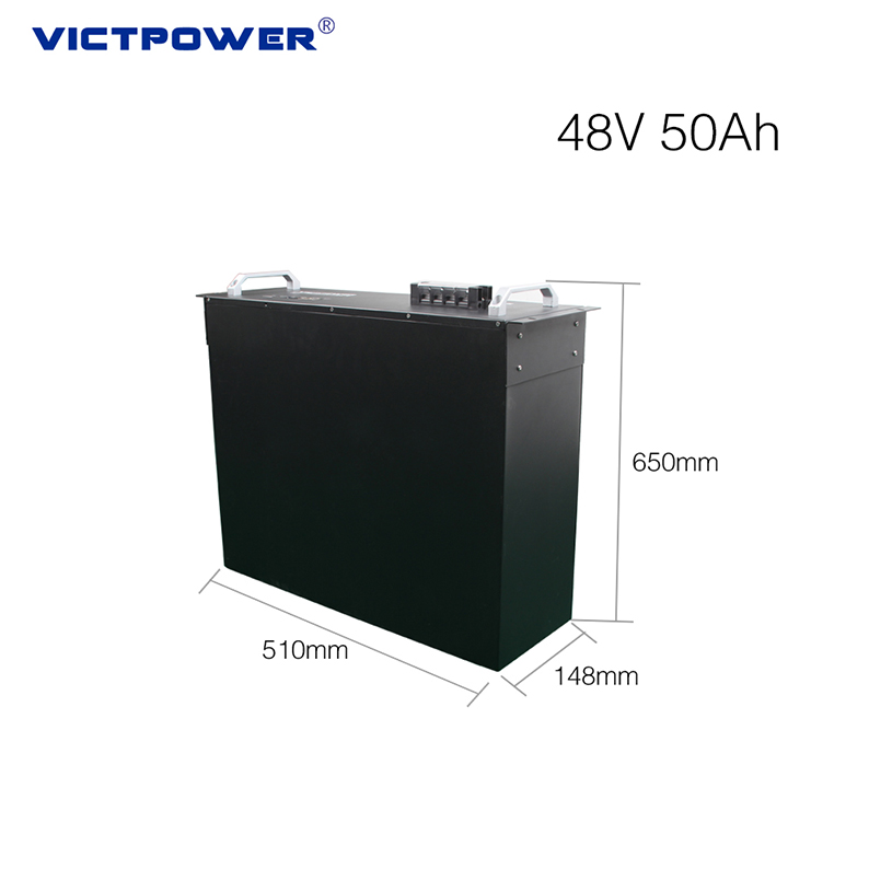 High power lifepo4 48V 50Ah battery pack for telecommunication station power supply