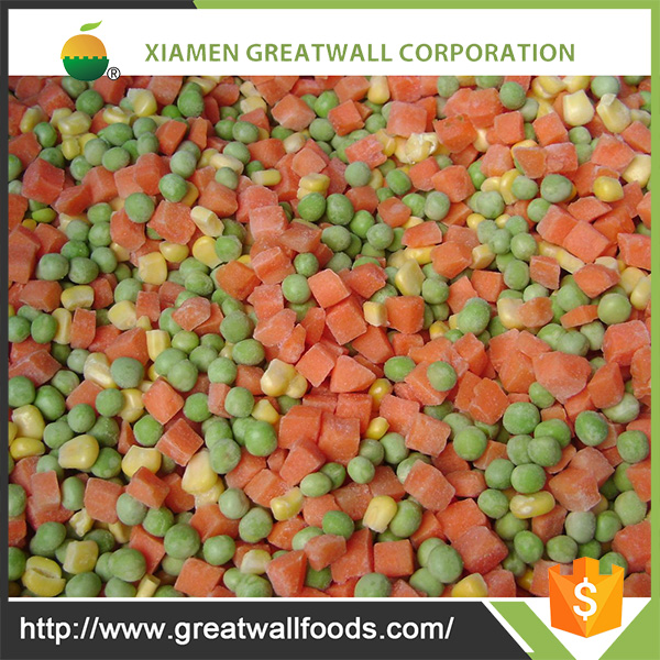 hot sale price of frozen mix vegetable