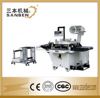 (SBM-D650) full computerized auto screen protector die cutting machine, label die cutter with magic eye