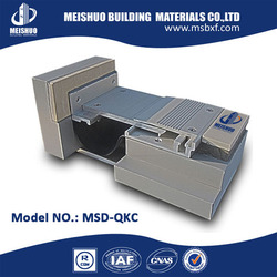aluminum expansion joint cover/types of expansion joints in buildings (MSD-QKC)