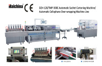 Automatic Sachet cellophane over-wrapping machine line/cartoning machine/packaging line