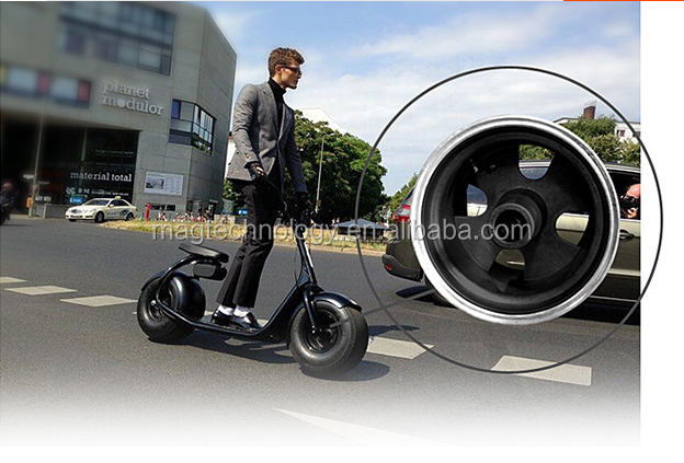 High quality 80km range New model 2016 jack hot carbon frame two wheel mini electric scooter 800w