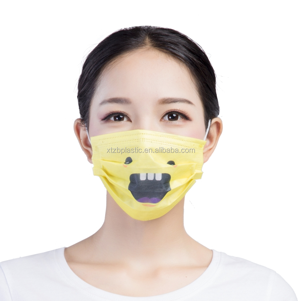 Dispoable surgical dental consumables funny medical masks for dentists