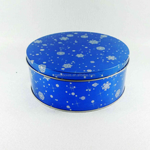 Metal Round Cookie Biscuit Cake Tin Box Chocolate Candy Sweets Mint Tin Can