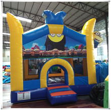 Cheap Kids Inflatable Minions Bouncy Castle For Sale, Jumping Bounce House China