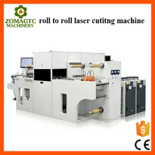 Chinese roll to roll self-adhesive paper laser cutting machine