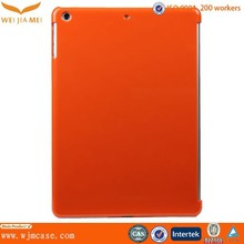 Orange color design for ipad protective case artwork could be printed