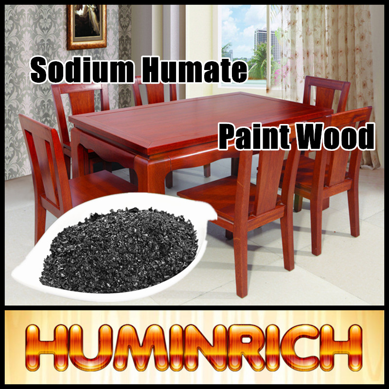 Huminrich 70% Humic Acid Coloring Effect Economic Special Fertilizer Sodium Humate Paint Wood Colour