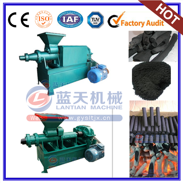 Top Quality Wood Briquette Square Shape Press Machine Small Extruder Machine