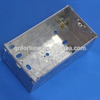 galvanized sheet metal industrial control metal boxes for electricity