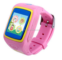 BT3.0 GPS Module Vibration MIC G-Sensor Pedometers Remote voice monitoring smart watch for children students