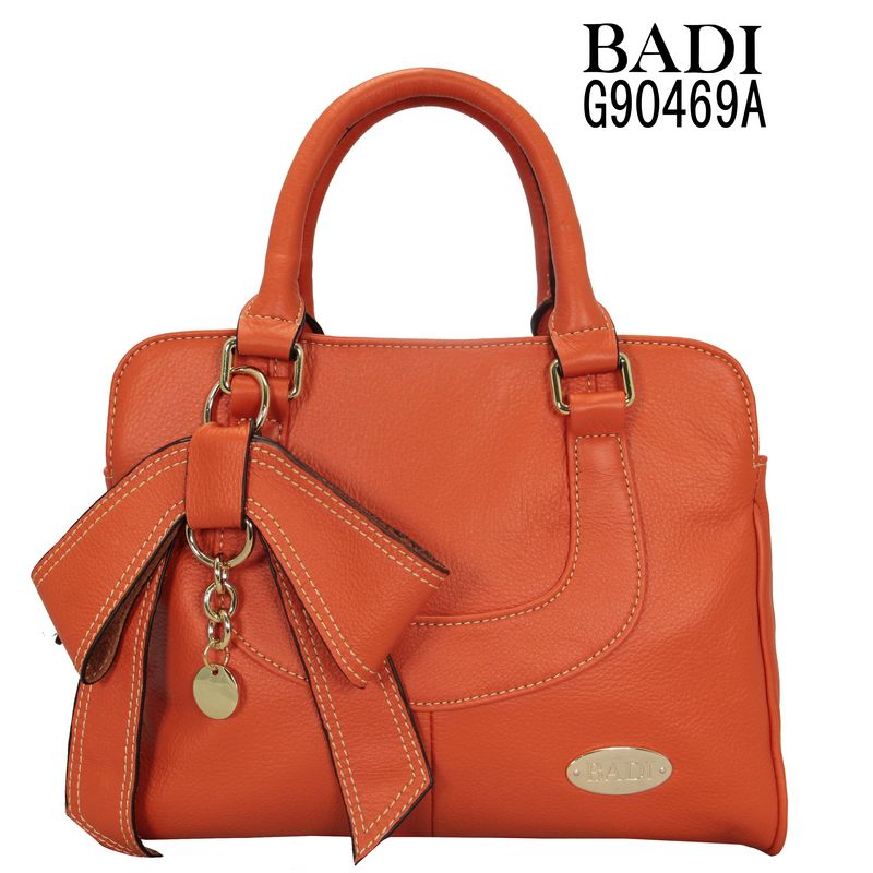 2013 orange butterfly tote leather latest designer bags ladies handbags 2012