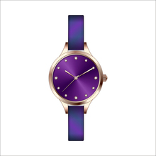 Fashion jewelry wrap charm genuine leather women dresses watch