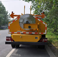 3000L High Pressure Jetting Truck for Drainage and Sewer Cleaning