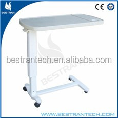 BT-AT002 CE/ISO hospital ABS dining talbe patient eating table manufacturer