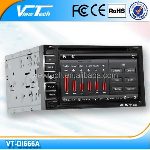 6.2 inch HD Touch Screen 2 DIN Car DVD GPS