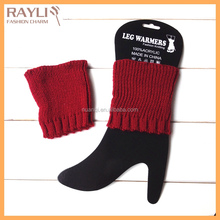 2016 Fashion-forward Traditional Stretch Knitting Liner Leg Warmer Boot Toppers