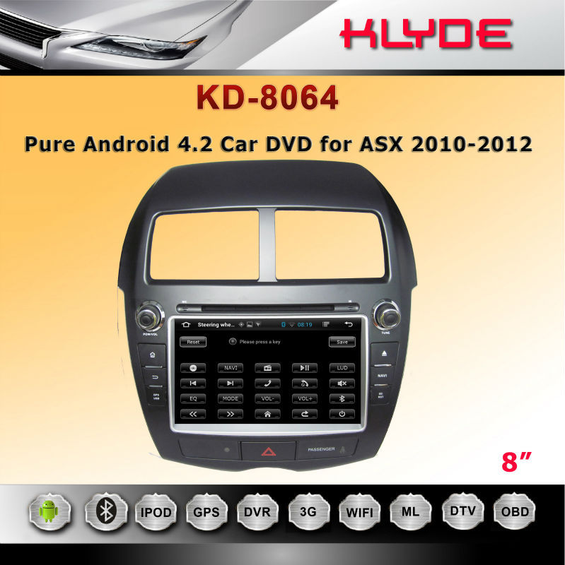 Android 4.2 auto radio car dvd for CITROEN C4 car dvd player