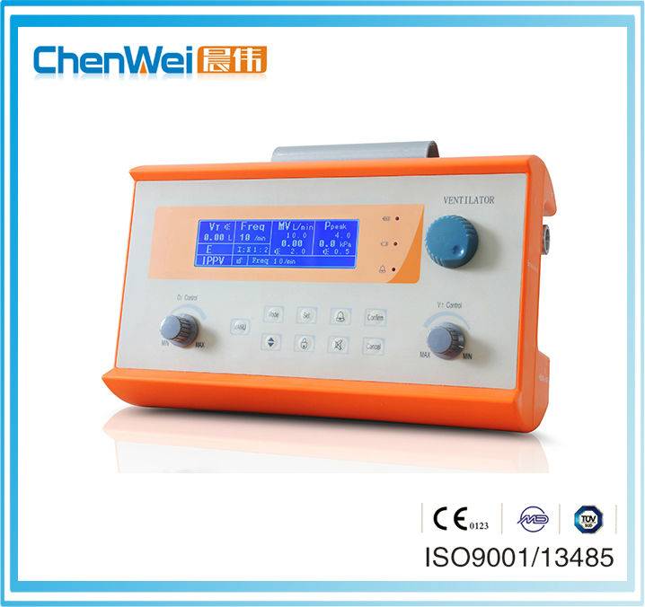 CE Marked LCD Display Portable Ventilators For Ambulance