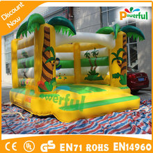palm tree jumping bouncer inflatable bouncer game