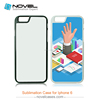 Hot Selling! 2D Sublimation Mobile Phone Case Cover For iPhone6/6S, DIY Phone Case