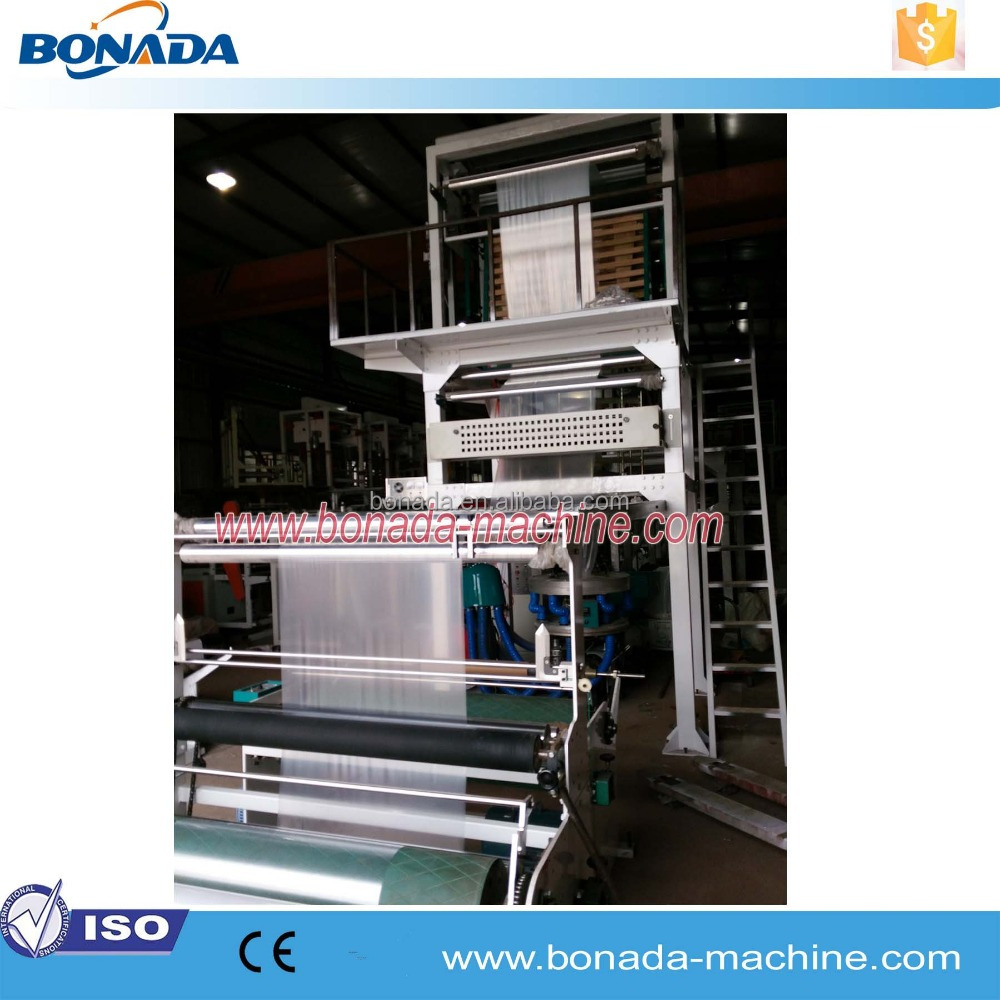 Stable performance pe greenhouse film polythene ldpe extruder film blowing machine