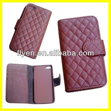 Fashion Wallet Style With Card Slot Case For iPhone 5 5S Advance Leather Material Luxury Fold Cover Welcome Wholesale