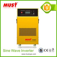 <MUST> Factory supply 2000W dc 12V to ac230v power inverter with battery charger
