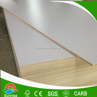 1220*2440*6MM&18MM of White HPL Laminated Plywood
