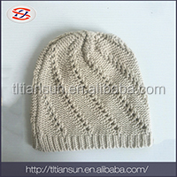 fashion beanie acrylic hat cheap and high quality 100%acrylic kintted hat