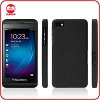 High Quality Slim Fit Ultra Thin Plastic Rubber Cell Phone Case for Blackberry Z10