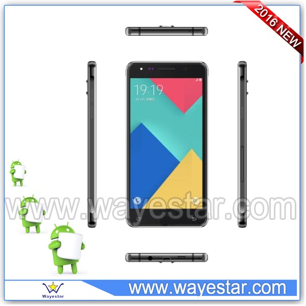 android 6.0 smart cell phone 5.5 customized logo made in china