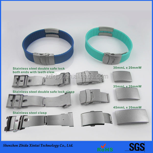 Factory Directly Sell Custom silicone hospital patient id wristbands